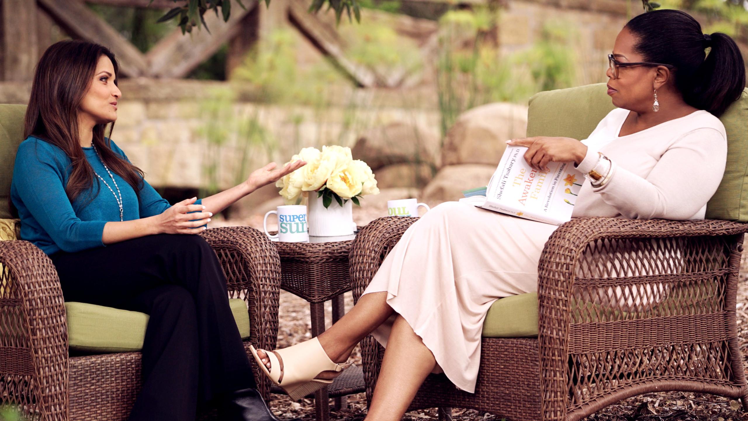 Shefali and Oprah